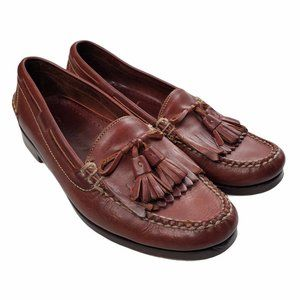 Cole Haan Men's Leather Slip-on Brown Loafers